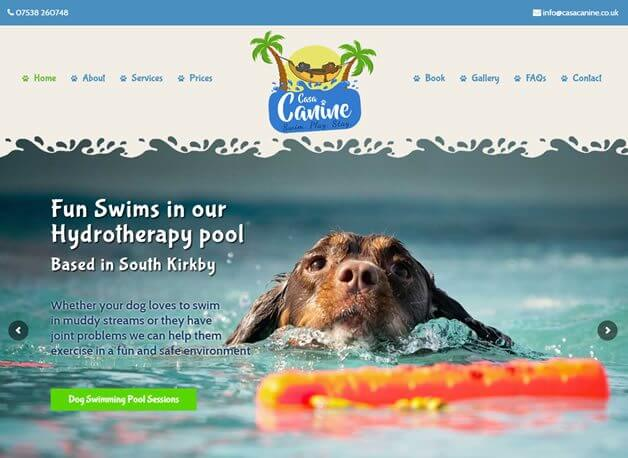 Casa Canine website design