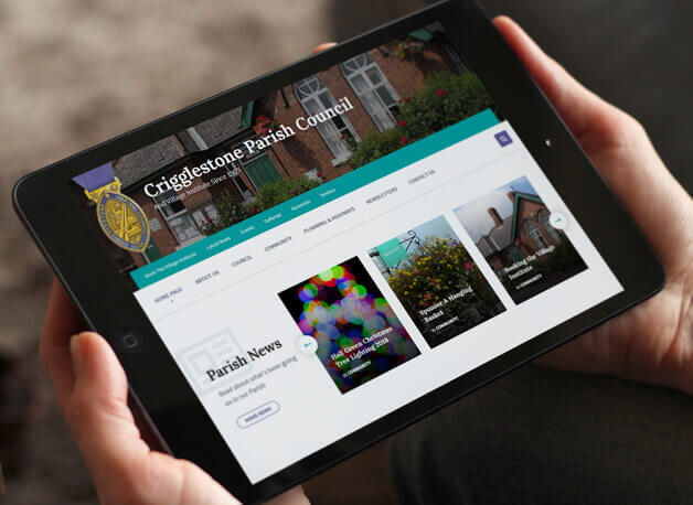 Crigglestone Parish Council website redesign